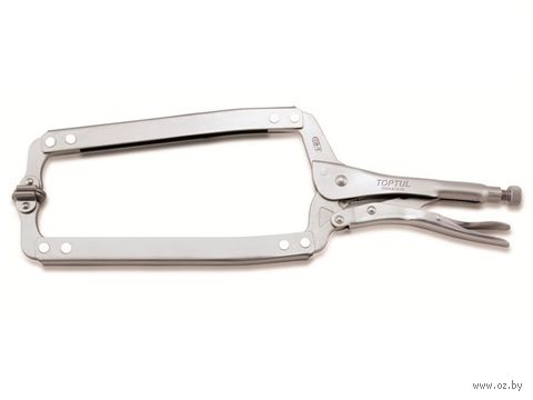 Зажим-струбцина с поворотными упорами (460 мм) — фото, картинка