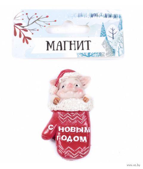 "Магнит на холодильник ""Поросенок"" (арт. 25556414) — фото, картинка"