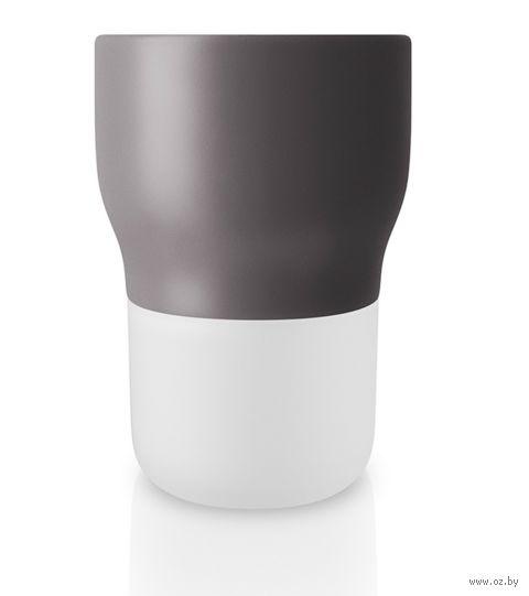 Цветочный горшок с функцией самополива (11 см; серый) — фото, картинка