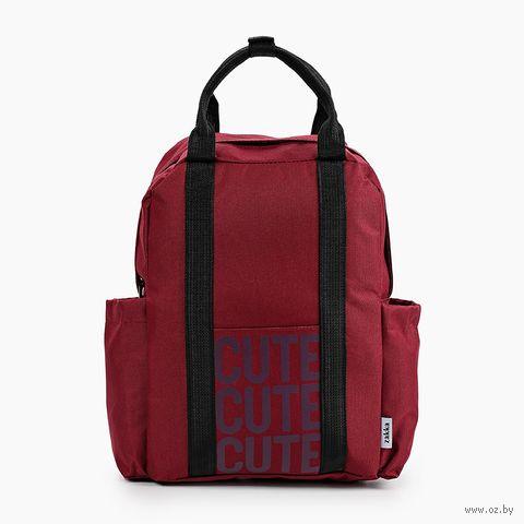 "Рюкзак ""Cute"" (бордовый) — фото, картинка"