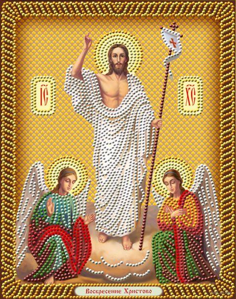 """Алмазная вышивка-мозаика """"Воскресение Христово"""" (280х220 мм) — фото, картинка"""