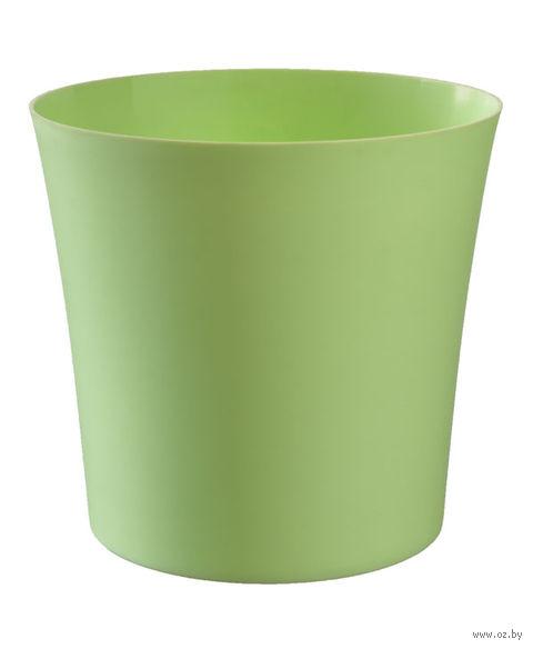"""Цветочный горшок """"Фиолек"""" (14 см; зеленая пастель) — фото, картинка"""