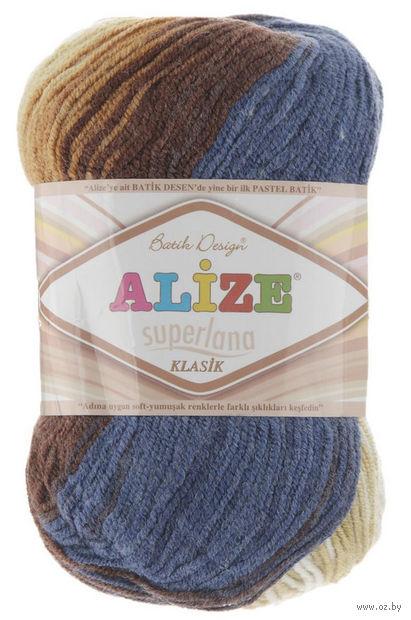 ALIZE. Superlana Klasik Batik №4263 (100 г; 280 м) — фото, картинка