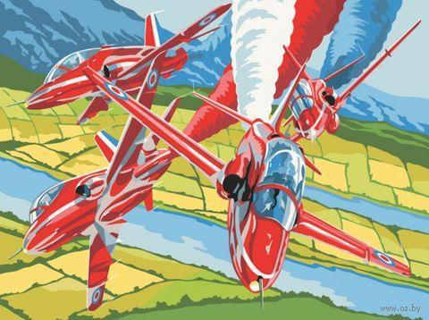 "Картина по номерам ""Высший пилотаж"" (300х400 мм) — фото, картинка"