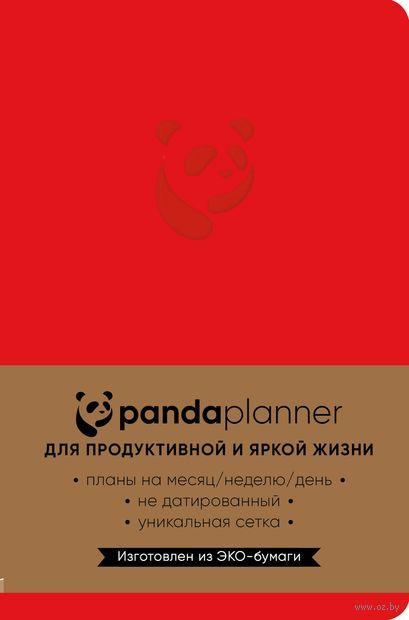 Panda planner (красный) — фото, картинка