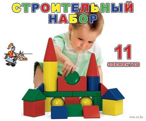 """Конструктор """"Строительный набор"""" (11 деталей) — фото, картинка"""