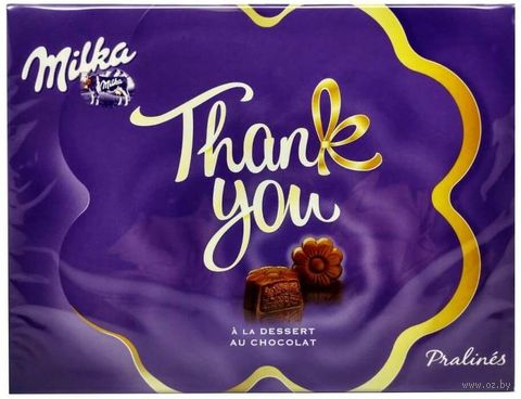 "Конфеты ""Milka. Thank You"" (120 г) — фото, картинка"