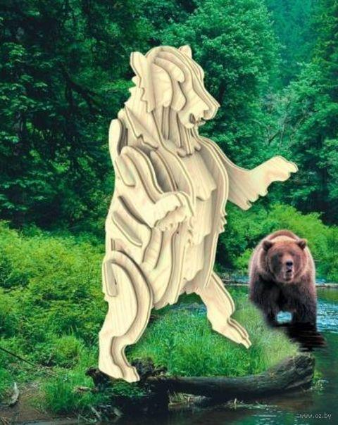 """Сборная деревянная модель """"Гризли"""""""