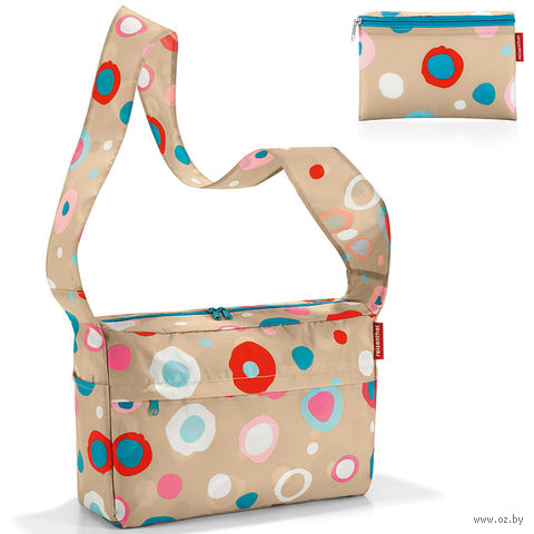 "Сумка складная ""Mini maxi citybag"" (funky dots 1)"