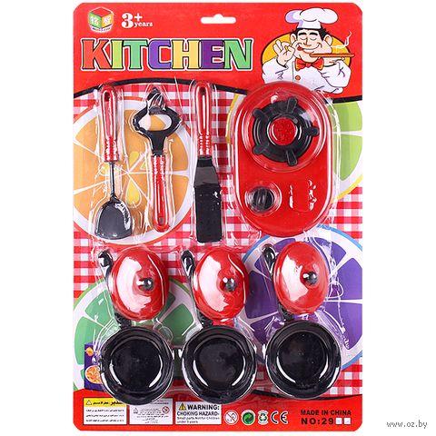 "Набор детсткой посуды ""Kitchen"" (арт. DV-T-912) — фото, картинка"