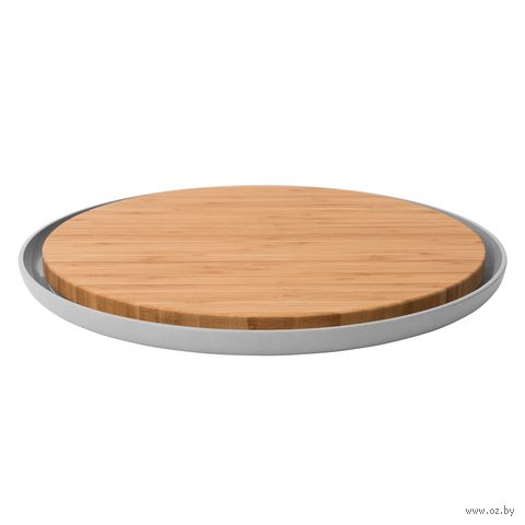Доска разделочная бамбуковая (365х365х20 мм) — фото, картинка