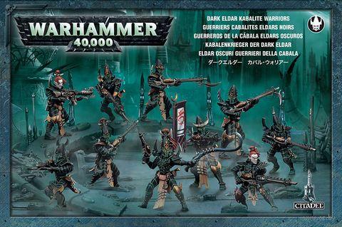 Warhammer 40.000. Drukhari. Kabalite Warriors (45-07) — фото, картинка