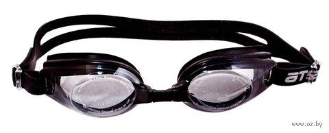 Очки для плавания (чёрные; арт. M404) — фото, картинка