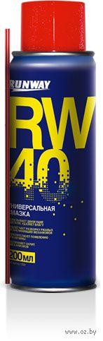 """Смазка универсальная """"RW-40"""" (200 мл; арт. RW6096) — фото, картинка"""