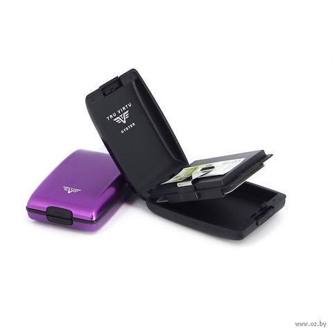 Кошелек OYSTER TRU VIRTU (лиловый) — фото, картинка