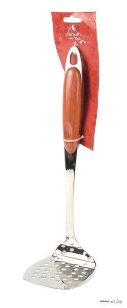 Мялка для картофеля металлическая с пластмассовой ручкой (29 см, арт. KL31B14-A04)
