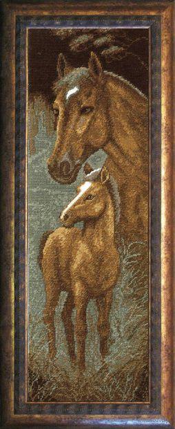"Вышивка крестом ""Лошади"""