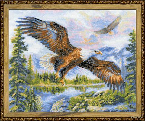 """Вышивка крестом """"Свободный полет"""" (500х400 мм) — фото, картинка"""