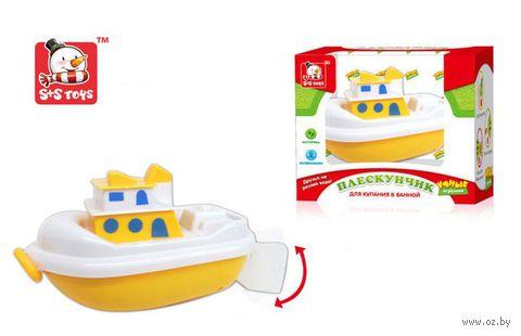 """Заводная игрушка для купания """"Катер Плескунчик"""" — фото, картинка"""