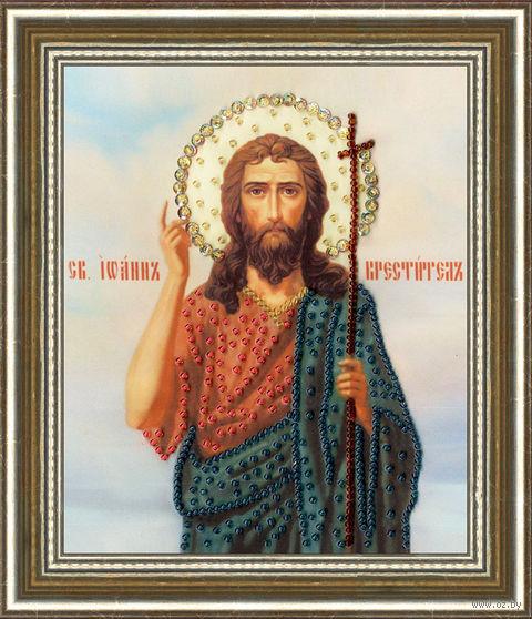"""Вышивка бисером """"Святой Иоан Креститель"""" (150х125 мм) — фото, картинка"""