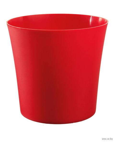 """Цветочный горшок """"Фиолек"""" (14 см; красный) — фото, картинка"""