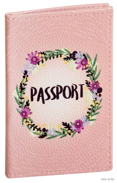 "Обложка на паспорт ""Венок"" — фото, картинка"