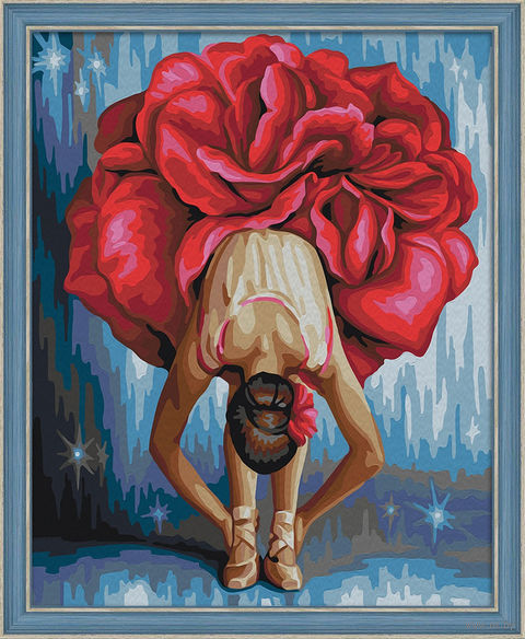 """Картина по номерам """"Танцовщица"""" (400х500 мм) — фото, картинка"""