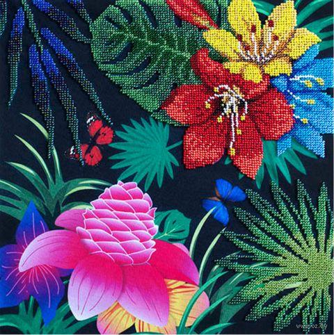"Вышивка бисером ""Райский сад"" (300х300 мм) — фото, картинка"
