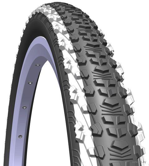 """Покрышка для велосипеда """"Scylla"""" (24""""x1,9; белые полоски) — фото, картинка"""