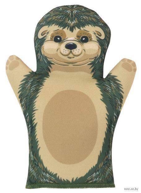 """Мягкая игрушка на руку """"Ёжик"""" (32 см) — фото, картинка"""