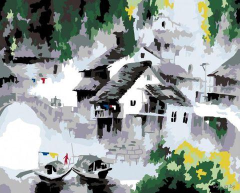 """Картина по номерам """"Белый город"""" (400х500 мм) — фото, картинка"""