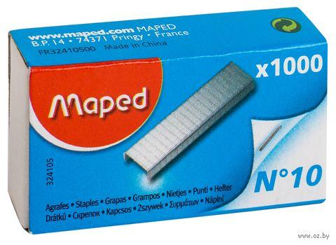 Скобы для степлера №10 (1000 шт.) — фото, картинка