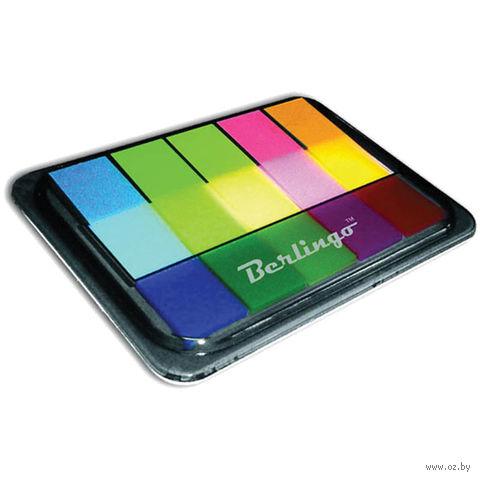 Набор флажков с клеевым краем (5 цветов по 20 листов; 44х12 мм; арт. LSz_45101)