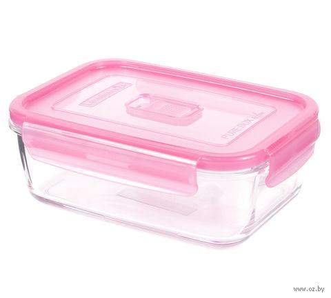 Контейнер для еды (0,38 л; розовый) — фото, картинка