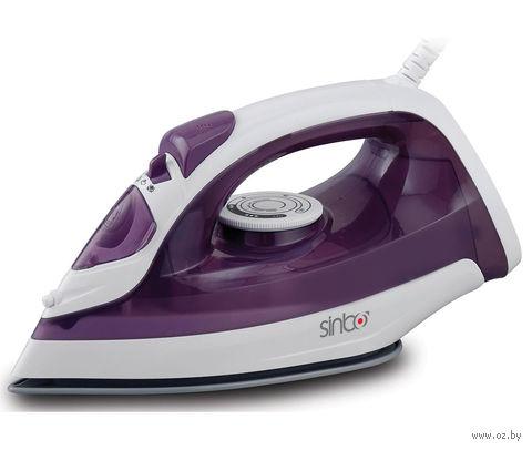 Утюг Sinbo SSI 6602 (фиолетово-белый) — фото, картинка