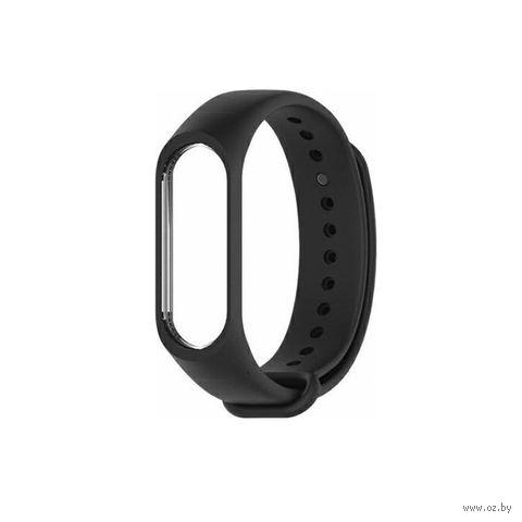 Ремешок для Xiaomi Mi Band 3 и Mi Band 4 Original (черный) — фото, картинка