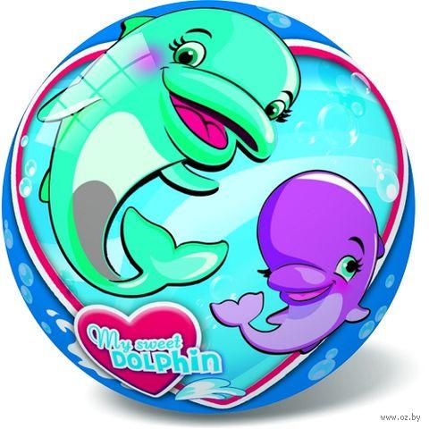 """Мяч """"Дельфины"""" (23 см; арт. 11/2847) — фото, картинка"""