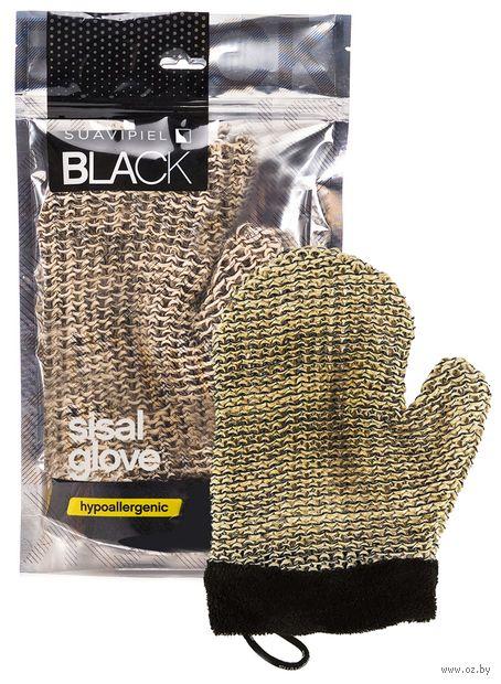 """Мочалка-варежка """"Black Glove"""" — фото, картинка"""