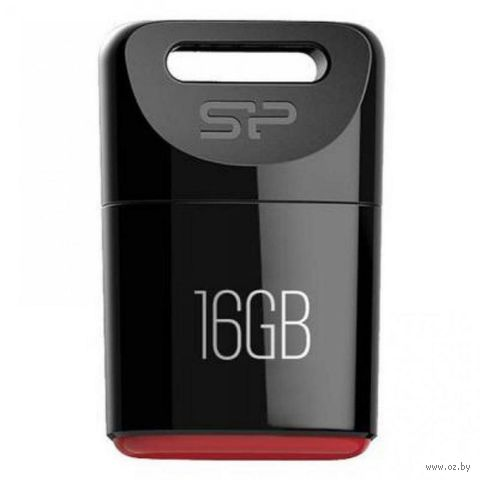 USB Flash Drive 16Gb Silicon Power Touch T06 (Black)