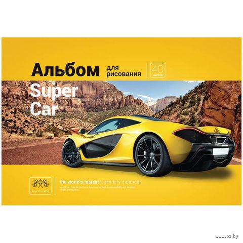 """Альбом для рисования на спирали А4 """"Авто. Top Car"""" (40 листов)"""