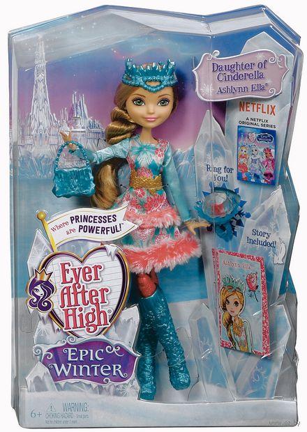 "Кукла ""Ever After High. Заколдованная зима. Эшлин Элла"""