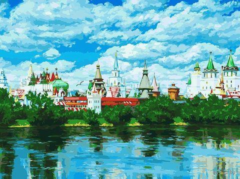 """Картина по номерам """"Русское подворье"""" (300х400 мм) — фото, картинка"""