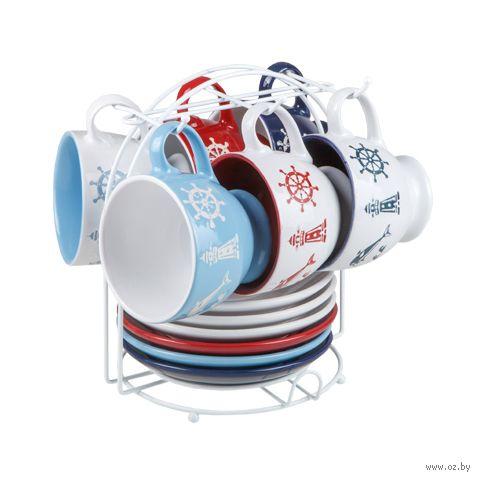 """Набор посуды """"Морская история"""" (13 предметов) — фото, картинка"""