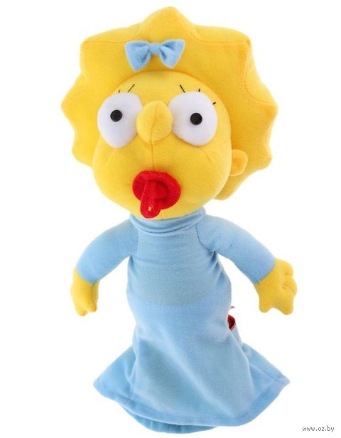 "Мягкая игрушка ""Мэгги Симпсон"" (28 см) — фото, картинка"