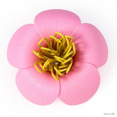"""Магнит для скрепок """"Blossom"""" (розовый)"""