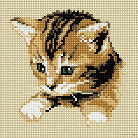 """Алмазная вышивка-мозаика """"Котенок"""""""