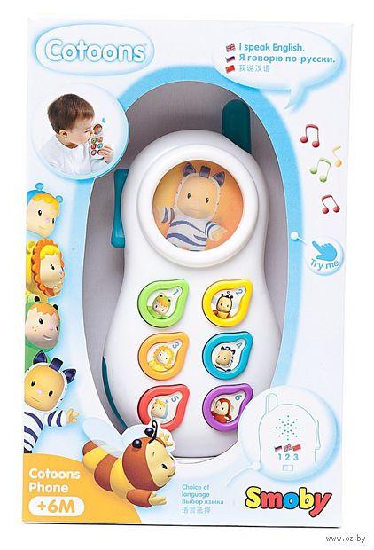 """Интерактивная игрушка """"Телефон"""" (со световыми эффектами) — фото, картинка"""
