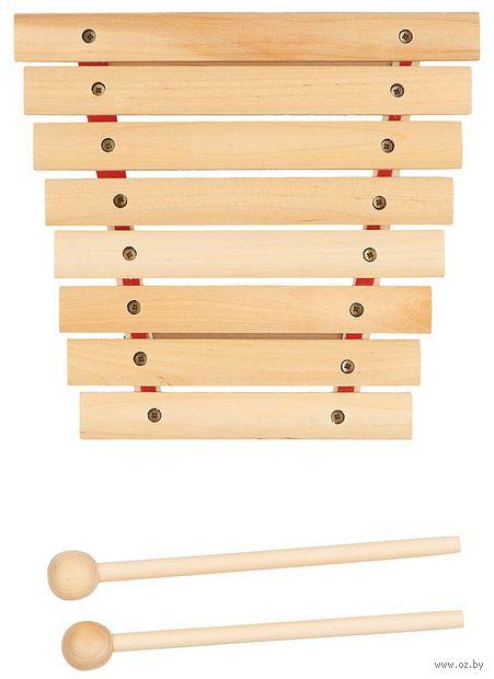 Ксилофон (8 тонов; арт. Д-528) — фото, картинка
