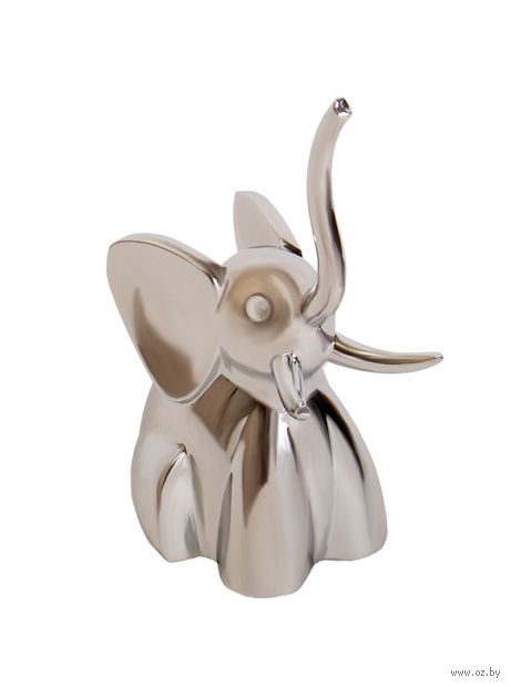 "Держатель для колец ""Zoola. Слон"" (хром) — фото, картинка"