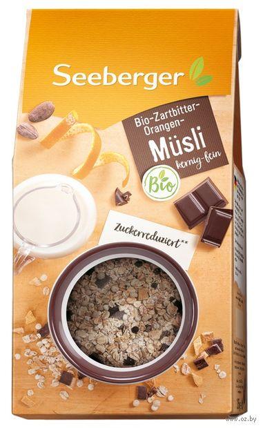 """Мюсли """"Seeberger. Тёмный шоколад и апельсин"""" (315 г) — фото, картинка"""
